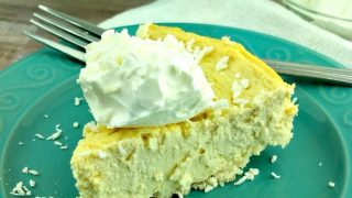 Pressure Cooker Coconut Cheesecake Recipe