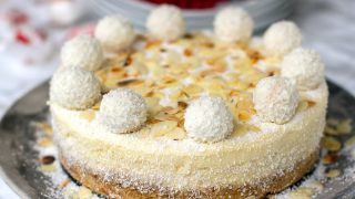 Instant Pot Raffaello Cheesecake