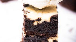 Low Carb & Keto Cheesecake Brownies