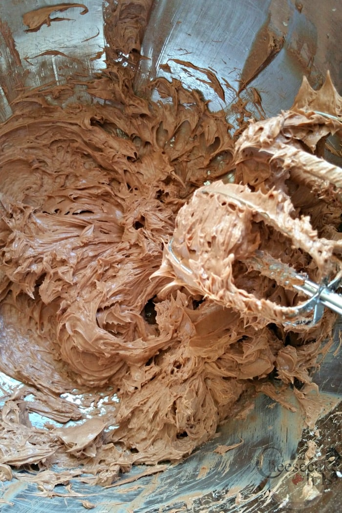 Mix Cream Cheese With Chocolate