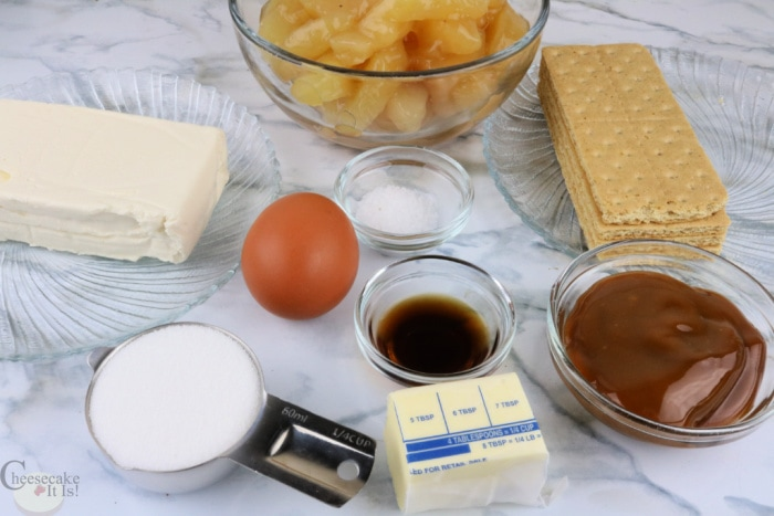 Ingredients Needed To Make These Cheesecakes